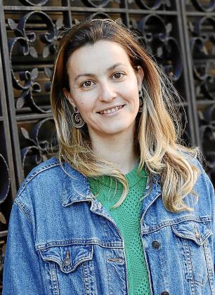 La asistente de arte Nerea Ferrero.