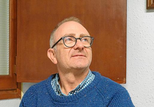 El escritor Miquel Esteve, reciente ganador del Premi Mallorca de Creació Literària en la categoría de Narrativa.