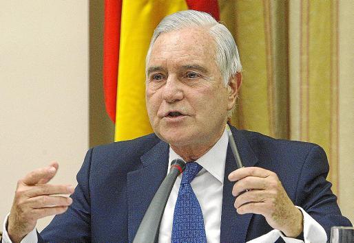 Carlos Dívar, presidente del Tribunal Supremo y del Consejo General de Poder Judicial.