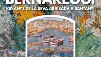 La obra de Francisco Bernareggi llena este enero la Casa de Cultura de Santanyí