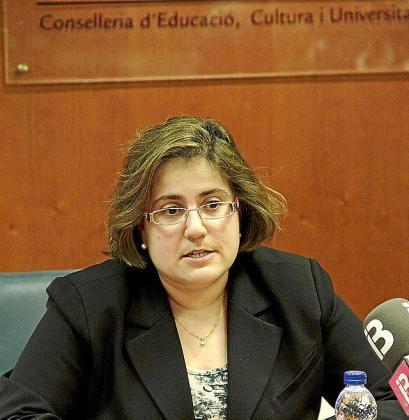 Mercedes Celeste, directora general de Planificació i Centres.
