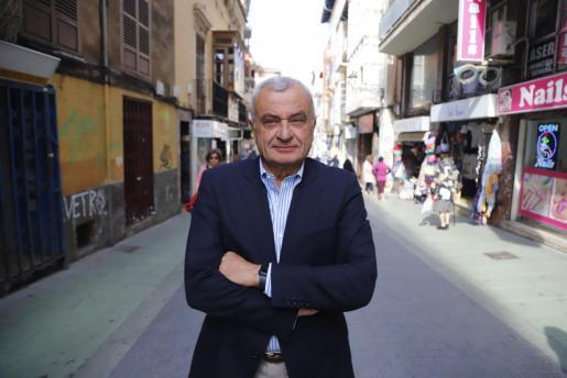 Fulgencio Coll, portavoz de Vox en el Ajuntament de Palma.