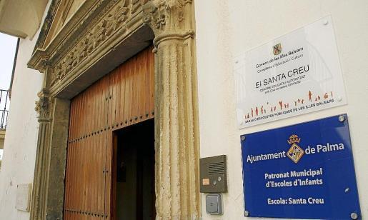 En la imagen se observa una de las 'escoletes' del Ajuntament de Palma.