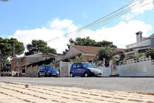 La urbanización de Badia Gran es una de las afectadas por los cortes de electricidad.