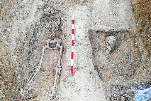 Los restos de Juana Baño fueron encontrados en el cementerio de Calvià en 2018.
