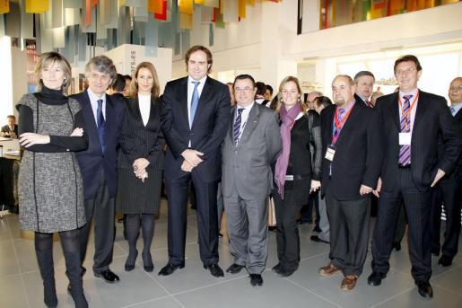 Ina Martínez, Antoni Munar, Susanna Sciacovelli, Antoni Horrach, Juan Cabrera, Susana de Juan, Jaime de Juan y Joan Massanet.