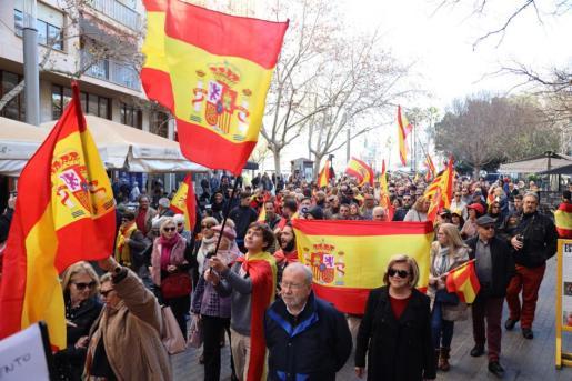 Imagen de la salida desde Plaza España.