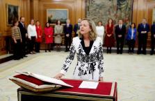 Nadia Calviño, nueva vicepresidenta de Asuntos Económico, jura su cargo