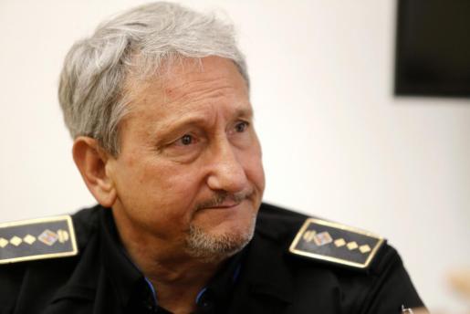 El nuevo jefe de la Policía Local de Palma, José Luis Carque.