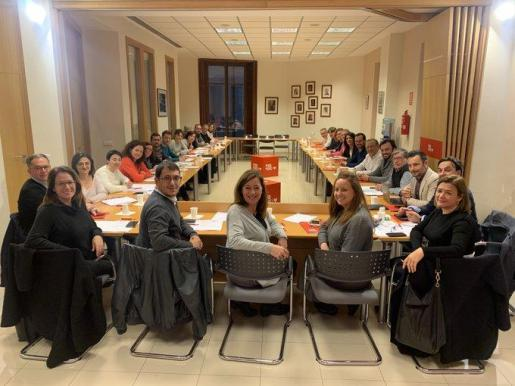 Miembros del PSIB-PSOE.