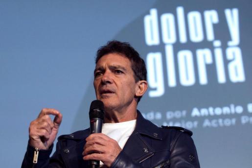 El actor malagueño Antonio Banderas.
