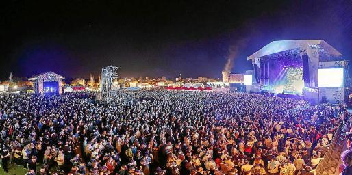 Imagen del Mallorca Live Festival. Imagen de archivo.