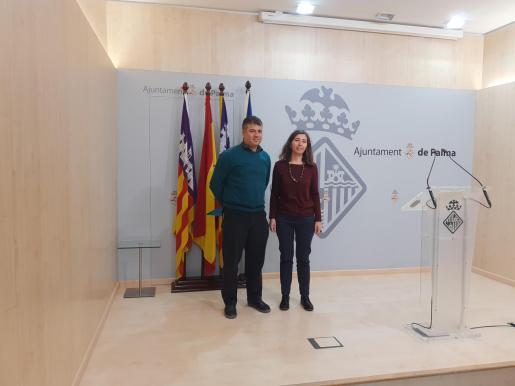 Josep M. Rigo y Neus Truyol han presentado el plan de regeneración de los barrios vulnerables de Palma.