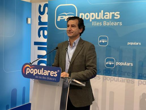 Biel Company, presidente del PP de Balears.