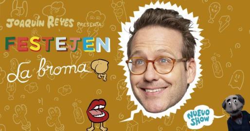 Joaquín Reyes presenta su nuevo espectáculo de humor en el Auditórium de Palma.