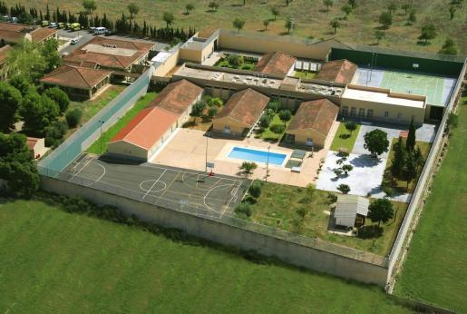 Vista aérea del centro de menores de Es Pinaret.