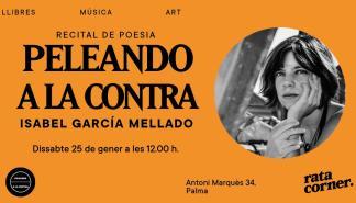 Recital de poesía dedicado a Isabel García Mellado en Rata Corner