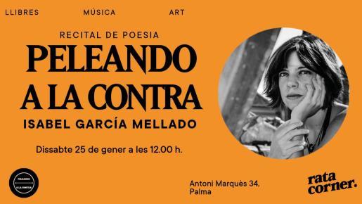 Recital de poesía dedicado a Isabel García Mellado en Rata Corner.