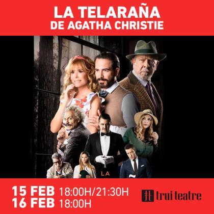 'La telaraña' de Agatha Christie en Trui Teatre.