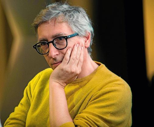 El escritor y cineasta David Trueba estará en Rata Corner.