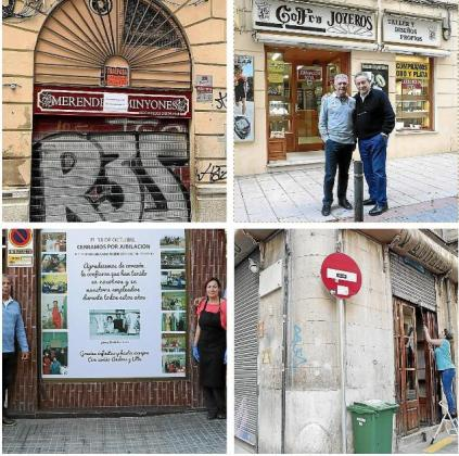 El Merendero Minyones, el Celler Can Amer Inca, la joyería Gofra y Ca La Seu son algunos de los establecimientos que han cerrado en el último año en Mallorca.