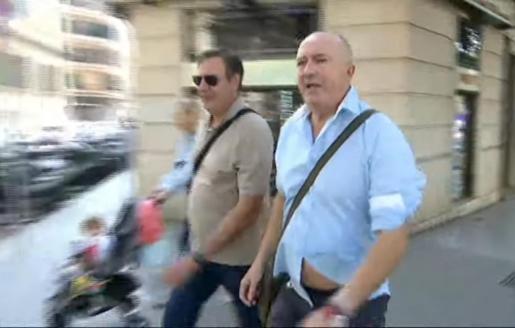 Penalva y Subirán, el pasado mes de octubre en los juzgados.