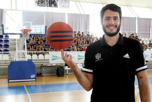 Álex Abrines, en una imagen captada durante su Campus, el pasado verano en Muro.