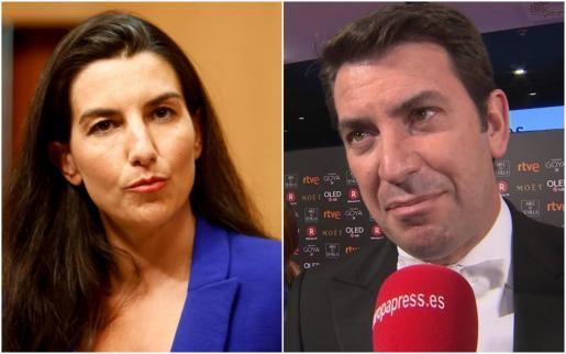 Rocío Monasterio y Arturo Valls.