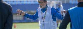 La UD Ibiza quiere ganar al Rayo Majadahonda y al Barça en su gran semana