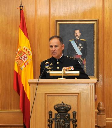 El teniente general Francisco Bisbal.
