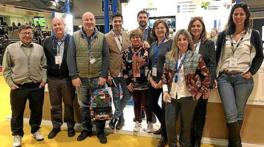 Joan Mayol, Juan Velasco, Tomeu Caldentey, Andreu Genestra, Coloma Crespí, Aldo Castelli, Marga Amat, Laura Calvo, Cusca Parets y Esperança Pou