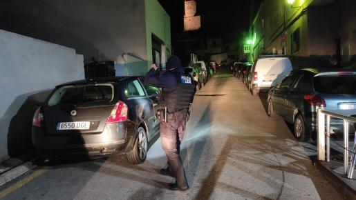 La Policía Local de Andratx, al frente de la investigación.