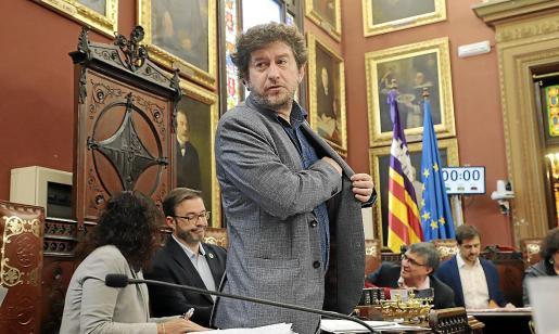El concejal Alberto Jarabo espera que la modificación de la ordenanza se apruebe con la unanimidad de los partidos.