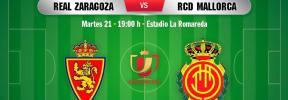 Real Zaragoza-Real Mallorca, en directo