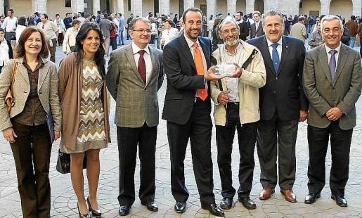 Catalina Sureda, Esperanza Crespí, Joan Rotger, José Luis Mateo, Andreu Oliver, Bernat Coll y Jaime Barceló.
