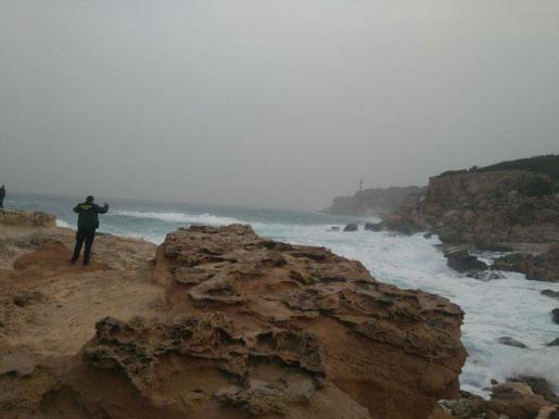 Imagen de la zona de Portinatx, donde se busca al joven desaparecido.
