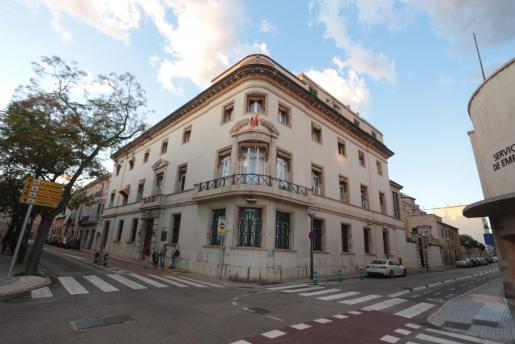 La casa de Emili Darder en Palma.