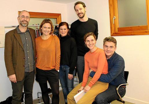Xavi Uritz, Mar Plá, Toti Fuster, Albert Prat, Margalida Grimalt y Roger Comas.
