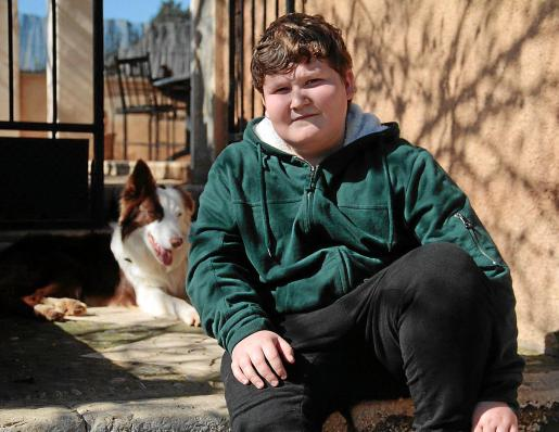 Miquel Montoro tiene 13 años, vive en Sant Llorenç y estudia en el IES Llorenç Garcies i Font, de Artà.