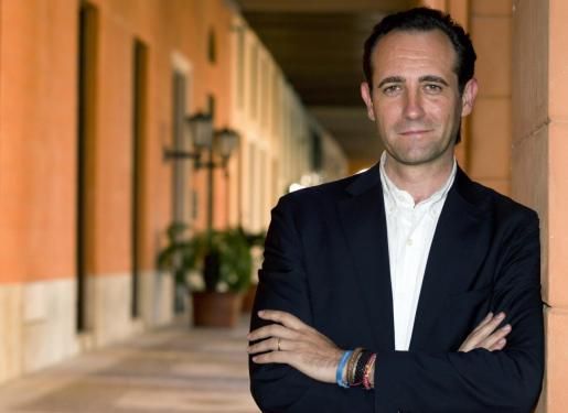 José Ramón Bauzá, pocos días antes de tomar posesión de su cargo como presidente del Govern balear.
