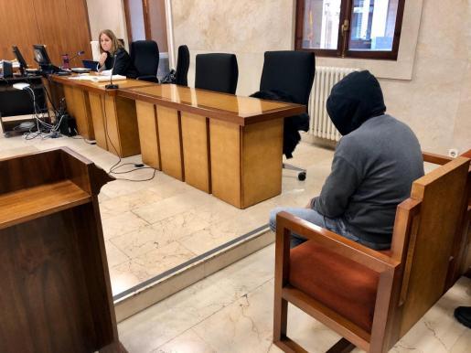 Momento del juicio celebrado este jueves en la Audiencia de Palma.