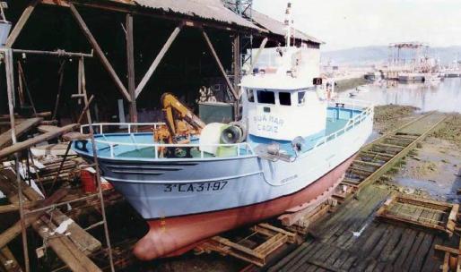 Fotografía de archivo del registro de pesqueros del Ministerio de Agricultura, Pesca y Alimentación, del barco pesquero gaditano Rua Mar.