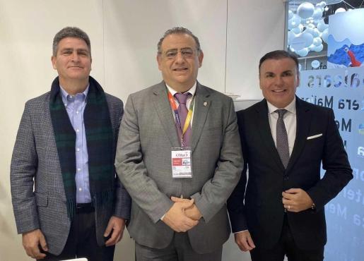 Miguel Pérez-Marsá, Alfonso Rodríguez y Jaume Lladó.