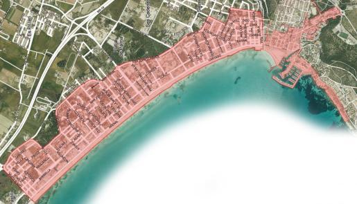 La zona de la Playa de Palma y de el Arenal queda afectada por el cumplimiento de la llamada ley de excesos. No se permitirá el 'todo incluido' ni la venta de alcohol en comercios por la noche.