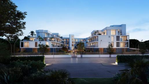 Situada a menos de 200 metros de la playa de Son Matías, este complejo de Palmanova contará con 30 viviendas de lujo de obra nueva.