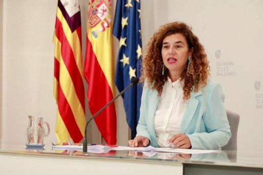 Pilar Costa, portavoz del Govern.