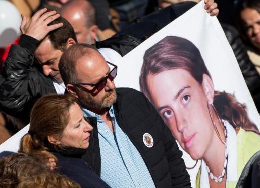 Imagen de archivo de la manifestación para que se repita el juicio de Marta del Castillo.