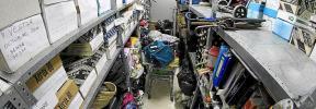 La Oficina de Objetos Hallados de Palma solo abre dos días a la semana desde enero