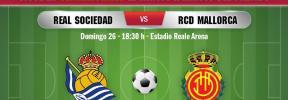 Real Sociedad-Real Mallorca, en directo