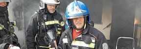 Drama en Vilafranca: El fuego se declaró en la cocina cuando el menor estaba con su bisabuela